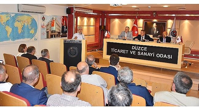 TSO MECLİS TOPLANTISI YAPILDI