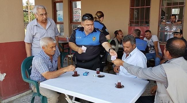 POLİS EKİPLERİNDEN SAHTE PARA UYARISI