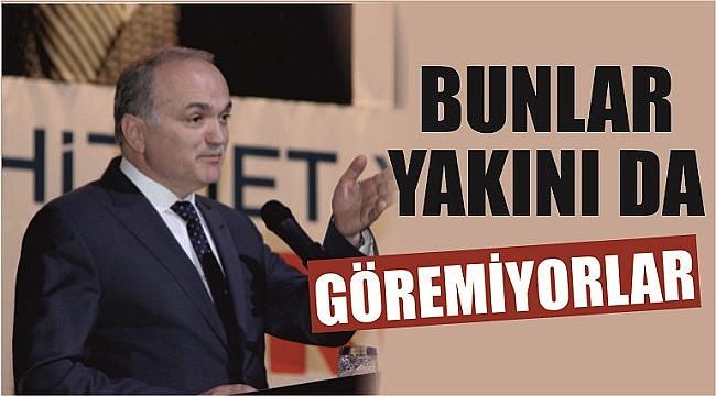 ÖZLÜ CHP'YE YÜKLENDİ
