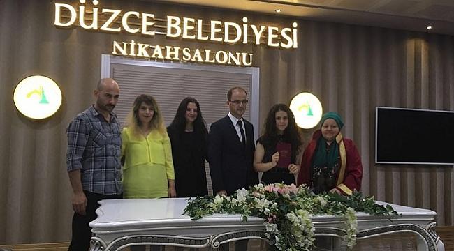 DÜZCE'DE 08.08.2018 NİKAH YOĞUNLUĞU