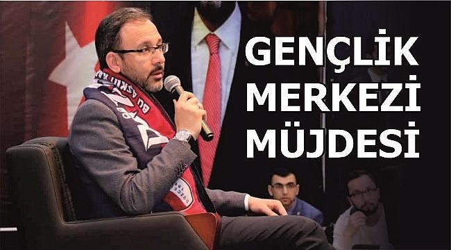 SPOR BAKANI MUHARREM KASAPOĞLU DÜZCE'YE GELDİ