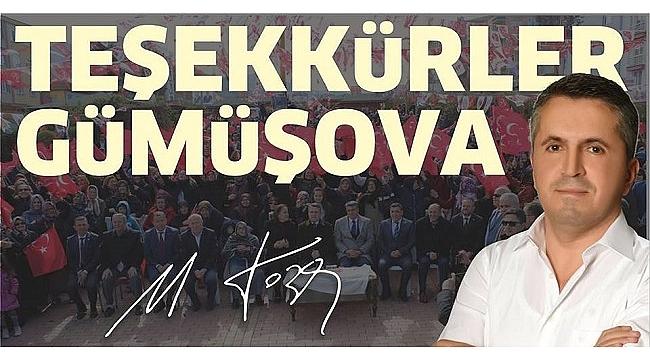 GÜMÜŞOVA'DA 3. TOZAN DÖNEMİ