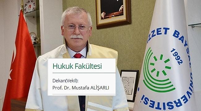 HUKUK FAKÜLTESİ'NE VETERİNER DEKAN!