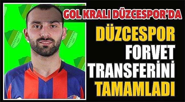 DÜZCESPOR'A GOLCÜ TRANSFERİ