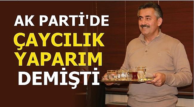 METİN KAŞIKOĞLU AK PARTİ'DEN İSTİFA ETTİ