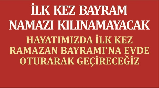 KORONAVİRÜS BAYRAMI DA ZEHİR ETTİ!
