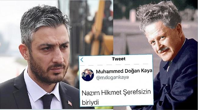 DANIŞMANDAN NAZIM HİKMET'E HAKARET!