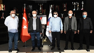 AK PARTİ'DEN DÜZCESPOR'A ANLAMLI ZİYARET