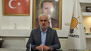 AK PARTİ İL BAŞKANI KESKİN'DEN PUSULA'YA KUTLAMA