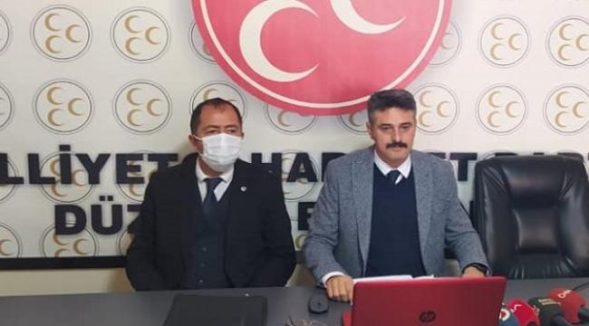 DÜZCE'DE KİMSE LASTİK YAKAMAZ!