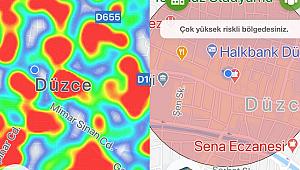 DÜZCE'DE KORONA PATLADI, RİSK ÇOK YÜKSEK!
