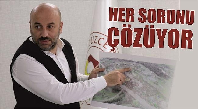 DR. CENGİZ TUNCER'DEN ÇÖP SORUNUNA NEŞTER