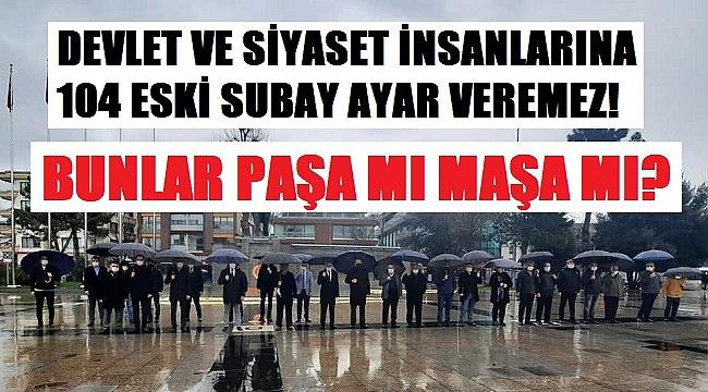 STK'LARDAN EMEKLİ AMİRELLERE ORTAK TEPKİ