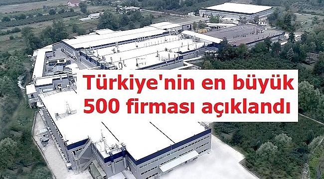 İLK 500'DE 8 DÜZCELİ FİRMA