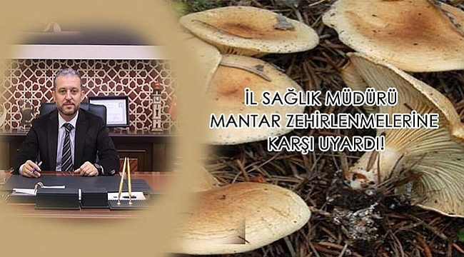 MANTAR ZEHİRLENMELERİNE DİKKAT EDİN