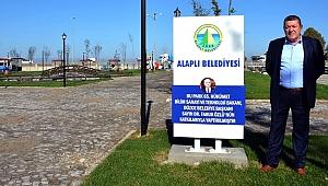 CHP'Lİ BELEDİYEDEN FARUK ÖZLÜ'YE TEŞEKKÜR